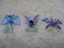 Pokemon TOMY Monster Collection Mini Figure Zubat Golbat Crobat Japan