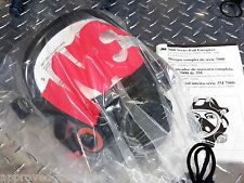 3M 7800S Respirator / Gas Mask - Silicone Full Facepiece LARGE - NEW / NIB