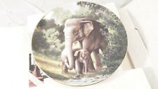 1989 W. S. George Will Nelson THE ASIAN ELEPHANT Collector's Plate