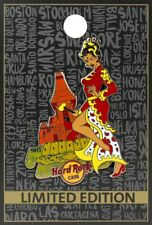 Hard Rock Cafe ONLINE 2017 Sexy PIN-UP Girl Series PIN #9/12 INDONESIA - LE 100!