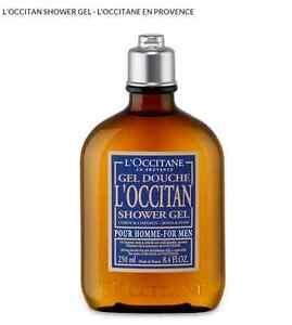 L'Occitane Shower Gel For Men Brand New 250ml