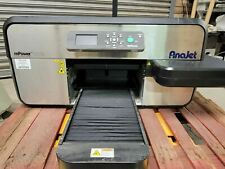 Anajet Mp5i Mpower Apparel Printer Dtg Direct To Garment 2691 Printer Count