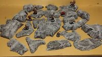 Wargaming Terrain - Large Box Set of Hills Stone Finish