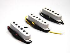 Set White Giovanni Alnico single coil pickup  Stratocaster guitar GVS 50