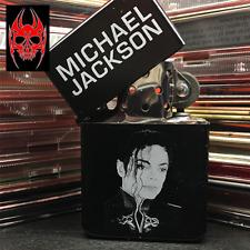 ACCENDINO LIGHTER LACCATO NERO BLACK LACQUERED MODELLO MICHAEL JACKSON