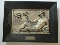 ANTIQUE ART DECO SCULPTURE 1920'S MALE MODEL ICON ICONIC NAUTICAL OLD SHIP RARE