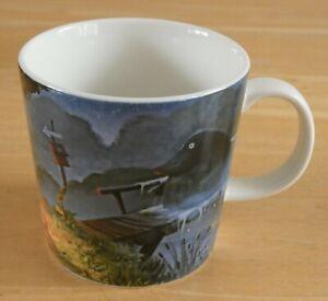 Arabia Finland Ceramic Moomin Valley Mug - Night Of The Groke (BNWOT)