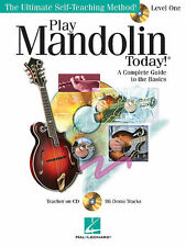 Play Mandolin Today! - Level 1 Book & CD *NEW* The Ultimate Self-Teaching Method