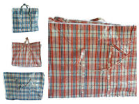 New Strong Quality Jumbo Storage Laundry Zipped Bag Recycled Reusable