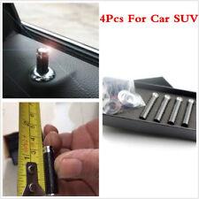 4PC Universa Real Carbon Fiber Car SUV Interior Door Lock Modified Door Knob Pin