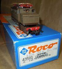roco HO loc. Fs E 626 079 d.i. udine  luci funzionante come nuovo biellino box