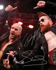 THE BAR #2 (WWE) - 10x8 PRE PRINTED LAB QUALITY PHOTO (SIGNED) (REPRINT)
