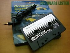 "Vintage Cassette Adapter w/1/8"" (3.5mm) Plug for Mp3 & Cd Player RadioShack Nos"