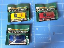 "Kyosho,1/100 Scale,Lotus Diecast Model,""Lotus Esprit V8,3 items"",unopened"