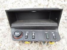 BMW E36 Cabrio Mittelkonsole Ablagefach Verdeckschalter Sitzheizung ASC Schalter