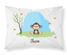 Personalised Cute Animals Pillow Case Cushion Cover Custom Made Print 102