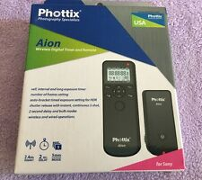 Phottix Aion  PH16379 Wireless Camera Timer & Shutter Release Sony
