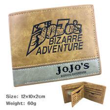 JoJo's Bizarre Adventure wallet fashion anime purse new woman man wallet