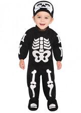 Baby Taglia Costume Di Halloween Scheletro