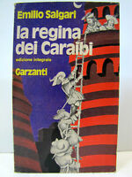 """Emilio Salgari """"La Regina dei Caraibi"""" 2a edizione 1976 Garzanti"""
