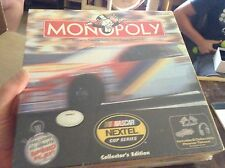 NASCAR Nextel cup collectors series monopoly game