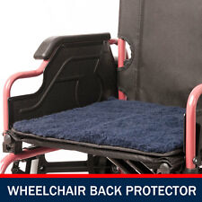 Wheel Chair Seat Protector Pillow Cover Cushion Wheelchair Soft Protect BLUE