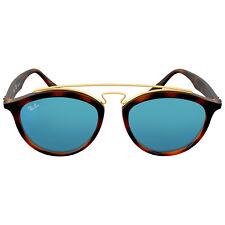 Ray Ban Gatsby II Blue Mirror Round Sunglasses