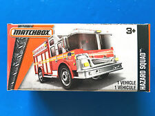 2016 Matchbox Power Grabs NEW YORK FIRE DEPT HIGH RISE RESCUE HAZARD SQUAD mint!
