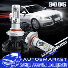 9005 HB3 ZES LED Headlight Conversion Kit High Beam Halogen Replacement 6000K