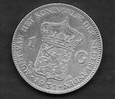1 Gulden argent 1931 Qualité