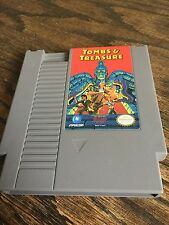 Tombs & Treasure Original Nintendo NES Game Cart Works NE3