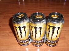 ENERGY DRINK, Monster ,(1 full Can ) Rehab Lemonade, gold Tap, 15,5 oz, USA