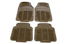 Rubber Floor Mats All Models Beige for Hyundai Sonata