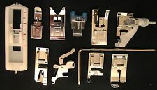 NEW Set of 11 Snap On feet LOW SHANK Singer, Pfaff Sewing Machines