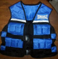 Weighted Training Vest Lonsdale ^22lbs For Overall Endurance Core Strength SZ R
