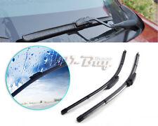 """22""""+22"""" Frameless Steel Rubber Rain Window Windshield Wiper Blade for AUDI A6"""