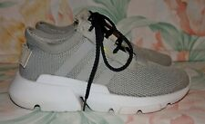 """Boy's Gray ADIDAS """"POD-S 3.1 Sneakers Size 1.5 M GREAT Condition"""