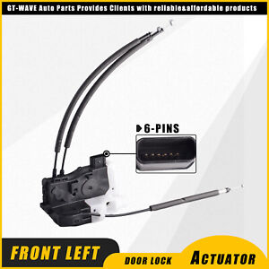 New Front Left Door Lock Latch Actuator Assembly fit 2011-2015 Hyundai Tucson