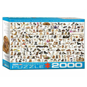 The World of Dogs Puzzle beautiful 2000-piece jigsaw puzzle