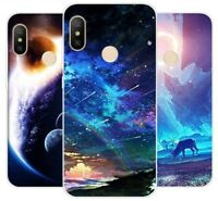 Xiaomi Redmi Note 6 Pro Case Silicone Soft TPU Back Cover Phone Galaxy Stars Gel