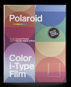 Polaroid Color i‑Type Film Double Pack ‑ Metallic Nights Edition (16 films)