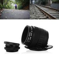35mm f/1.7 CCTV Cine Lens C Mount for Micro 4/3 Camera E-P3 E-PL3 E-PL5 LF12