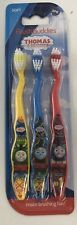 Kids Toothbrush Thomas & Friends 3 Pack With Soft Bristles For Boys & Girls