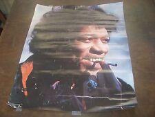 Jimi Hendrix Concert Poster Sweden Original Printed In Sweden Rare Hendrix