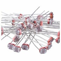 30 Pieces Photoresistor Photo Light Light Dependent Resistor 5 mm GM5539 I5S8
