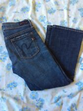 Citizens Of Humanity Kelly #063 Low Waist Cropped Stretch Jeans Women's Size 24
