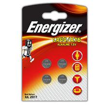 4 x Energizer LR44 A76 AG13 G13A 357 303 1.5V Alkaline Batteries exp: 2020