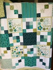 Moda WELL SAID DAYS PANEL Quilt Kit  + binding + pattern S GERVAIS