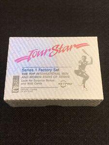 1991 ATP Tour NETPRO Tour Star Series 1 Sealed Box Set Tennis AGASSI SAMPRAS RC