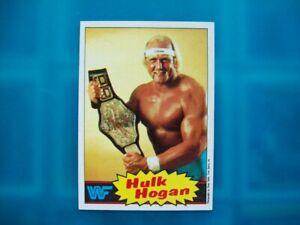 Topps Trading Card 1995 HULK HOGAN Rookie Pro Wrestling WWE WWF AEW WcW NJPW ROH